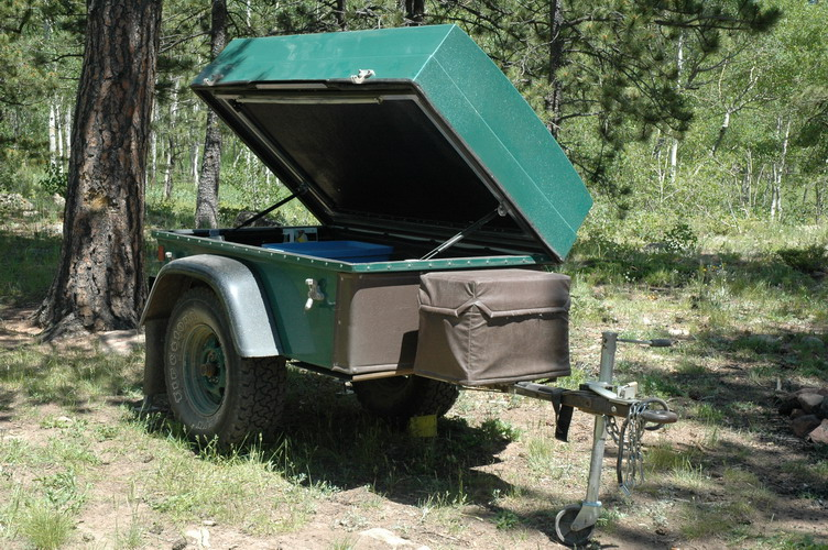 ... is reinforced with an aluminum perimeter frame. This sits on a rugged steel frame supported by the 1000 lb capacity TorFlex axle. The bed/tent platform ... & USA VenturCraft Sportsman Off-Road Camping and Cargo Trailer ...