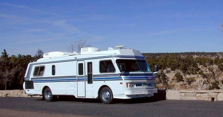 We bought this motorhome in summer of 1999, to take to Alaska and Northwest