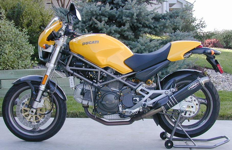 Ducati Monster (900S) Motorcycle Modifications